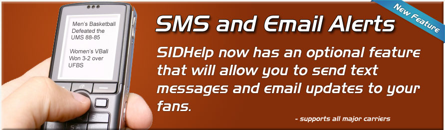 SMS and Email Subscriptio